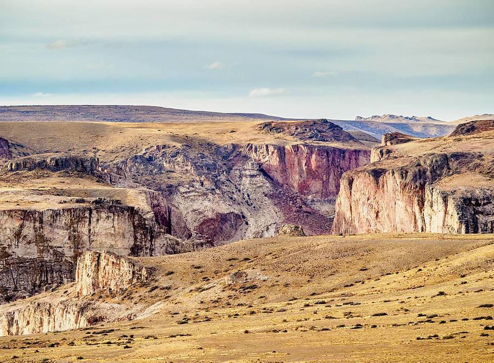 Rio Pinturas Canyon, Santa Cruz Province, Patagonia, Argentina, South America