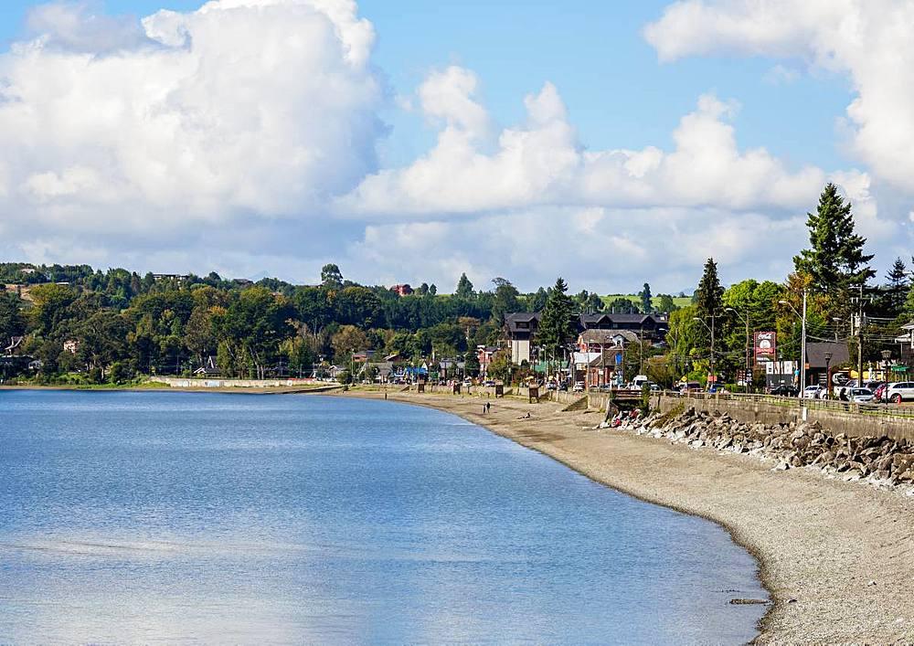 Llanquihue Lake, Puerto Varas, Llanquihue Province, Los Lagos Region, Chile, South America