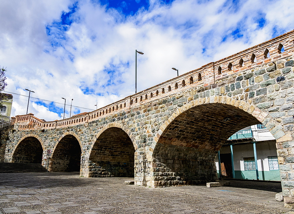 Puente Roto, broken bridge, Cuenca, Azuay Province, Ecuador - 1245-1254
