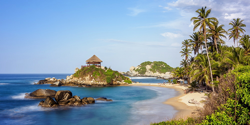El Cabo San Juan del Guia beach, Tayrona National Natural Park, Magdalena Department, Caribbean, Colombia, South America