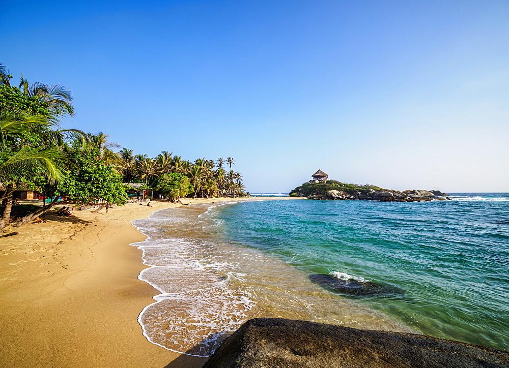 El Cabo San Juan del Guia beach, Tayrona National Natural Park, Magdalena Department, Caribbean, Colombia - 1245-1389
