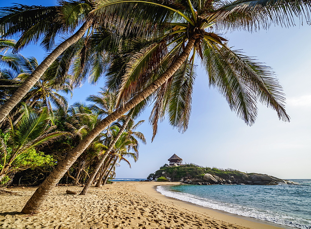 El Cabo San Juan del Guia beach, Tayrona National Natural Park, Magdalena Department, Caribbean, Colombia - 1245-1391
