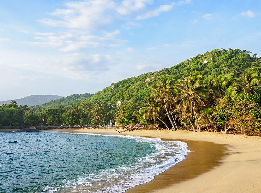 El Cabo San Juan del Guia beach, Tayrona National Natural Park, Magdalena Department, Caribbean, Colombia - 1245-1397