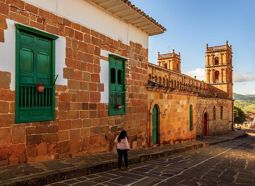 La Inmaculada Concepcion Cathedral, Barichara, Santander Department, Colombia - 1245-1410