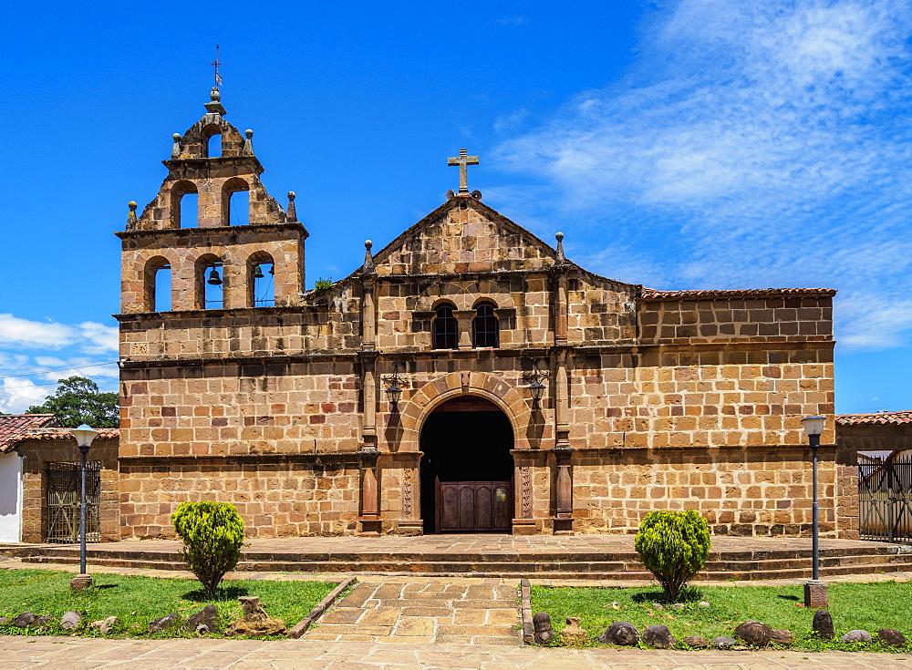 Santa Lucia Church, Guane, Santander Department, Colombia - 1245-1413