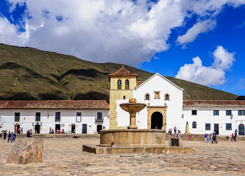 Our Lady of the Rosary Church, Plaza Mayor, Villa de Leyva, Boyaca Department, Colombia - 1245-1422