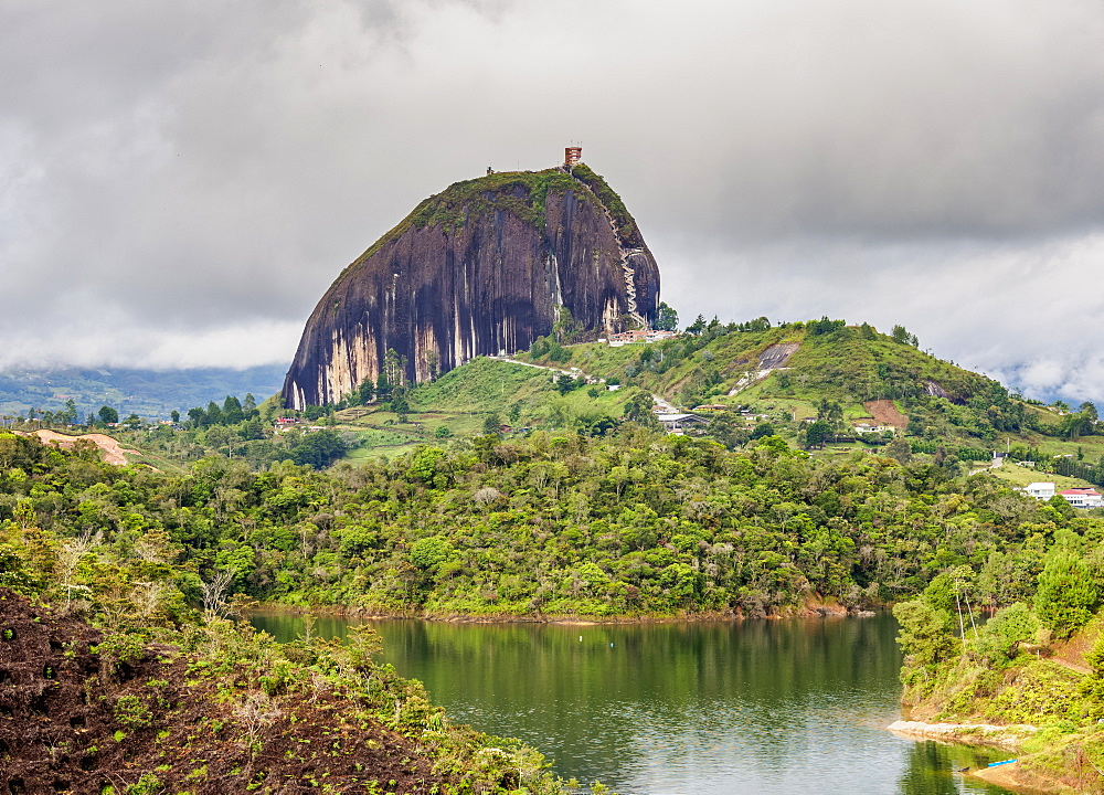 El Penon de Guatape (Rock of Guatape), Antioquia Department, Colombia, South America