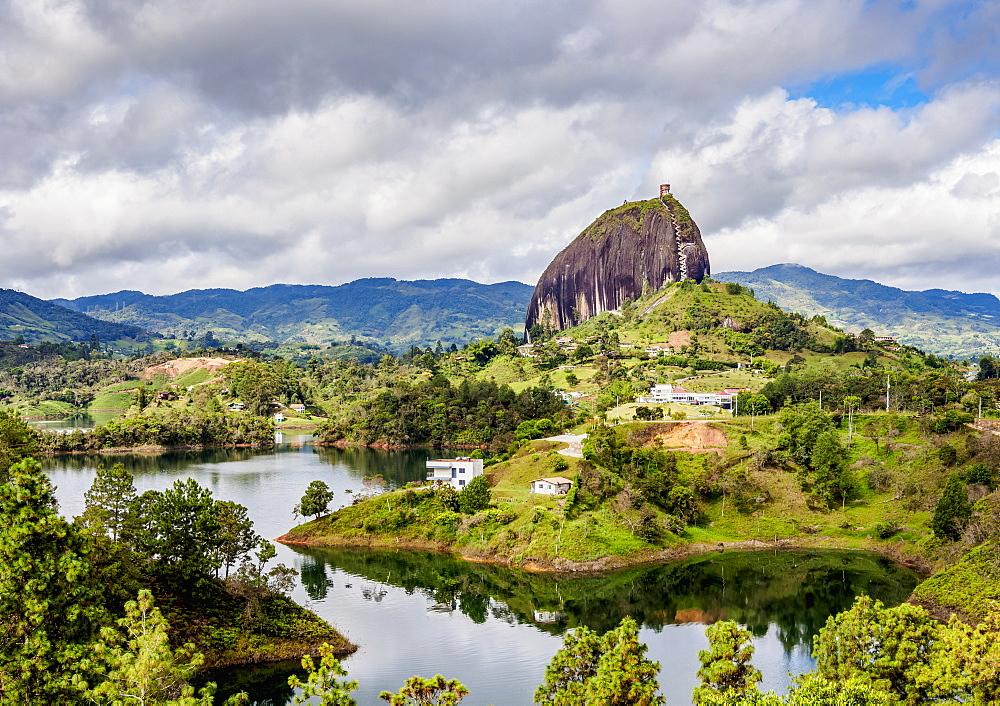 El Penon de Guatape, Rock of Guatape, Antioquia Department, Colombia - 1245-1425