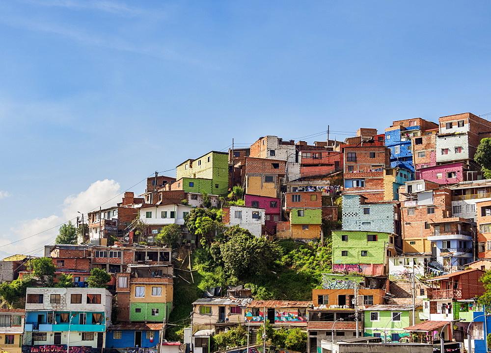 Comuna 13, Medellin, Antioquia Department, Colombia - 1245-1455