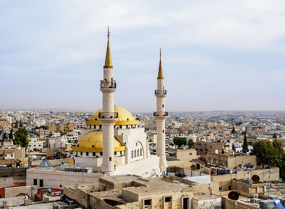 King Hussein Mosque, Madaba, Madaba Governorate, Jordan, Middle East