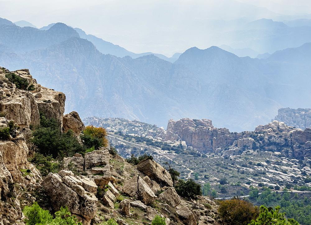 Dana Biosphere Reserve, Tafilah Governorate, Jordan, Middle East