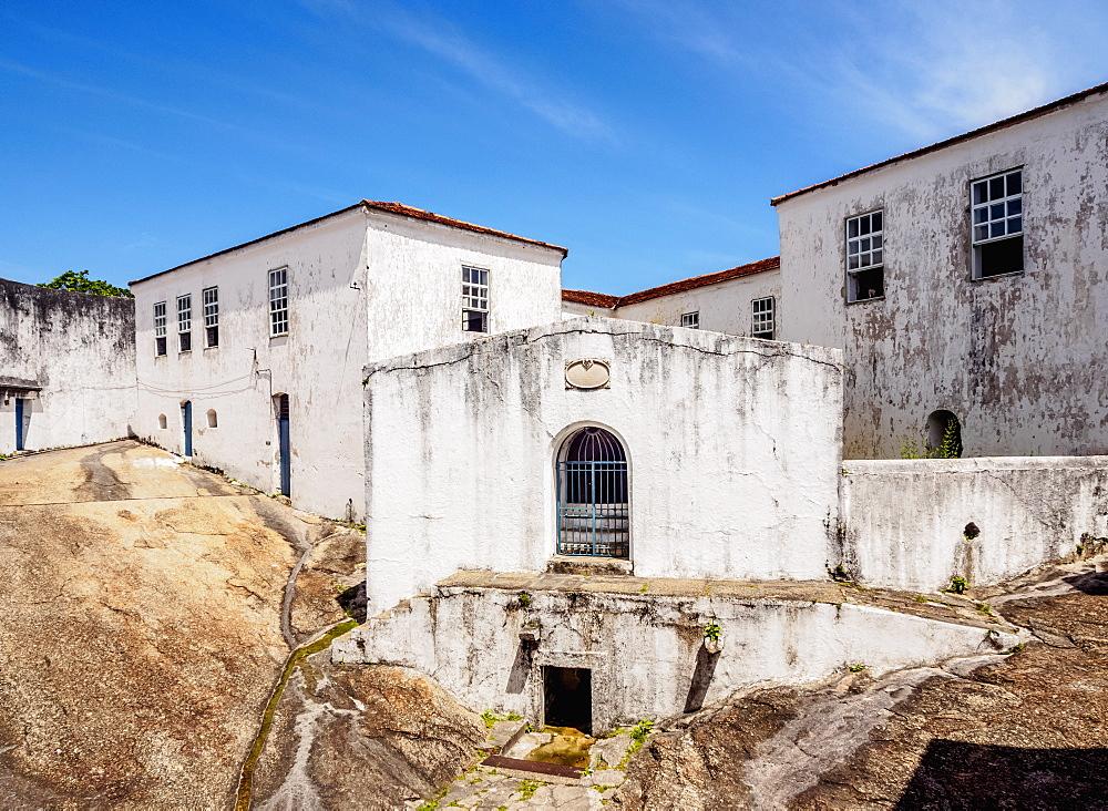 Santa Cruz da Barra Fort, Niteroi, State of Rio de Janeiro, Brazil, South America