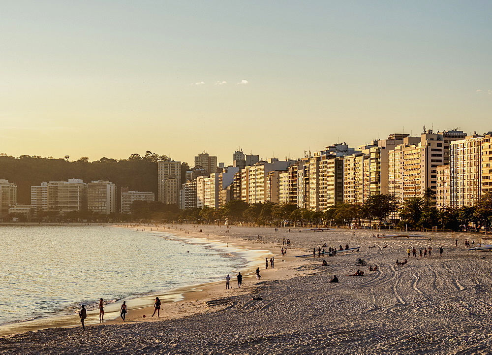Icarai Beach and Neighbourhood, Niteroi, State of Rio de Janeiro, Brazil, South America