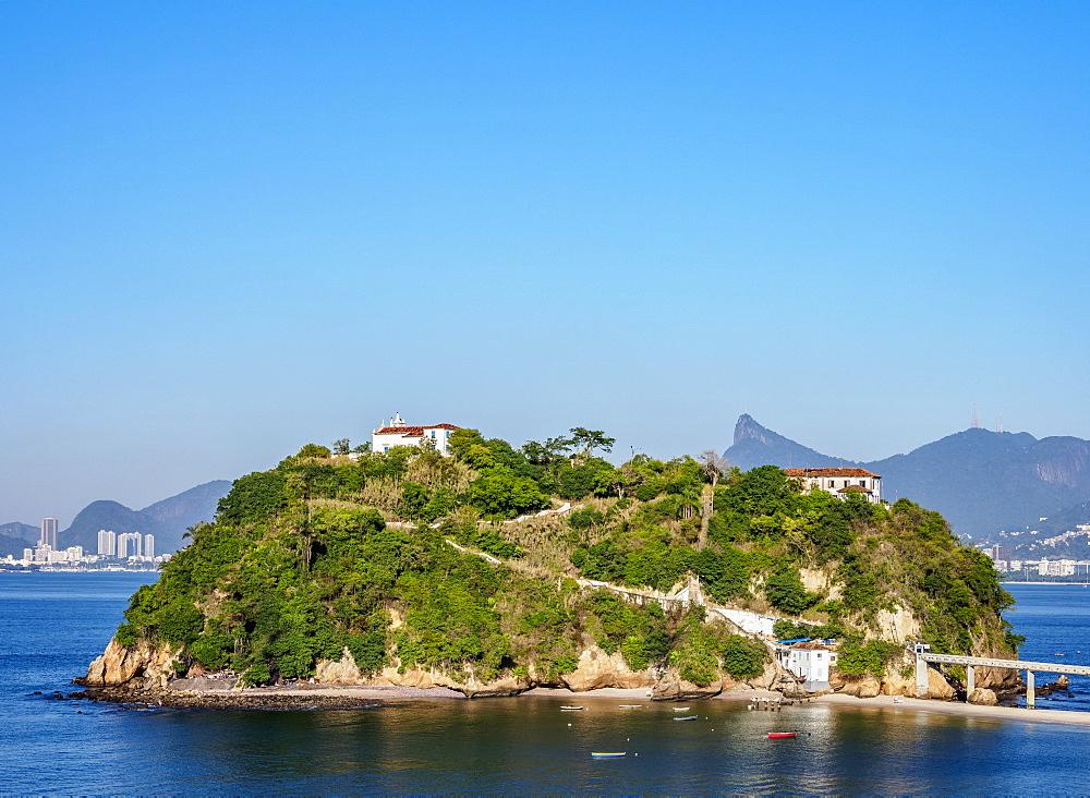 Boa Viagem Island, Niteroi, State of Rio de Janeiro, Brazil, South America