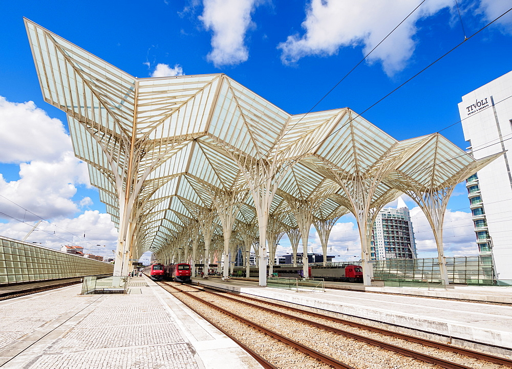 Oriente Train Station, Lisbon, Portugal, Europe