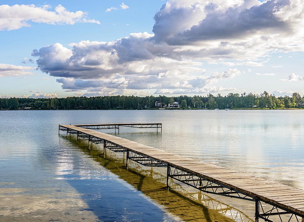 Biale Lake, Okuninka, Lublin Voivodeship, Poland, Europe