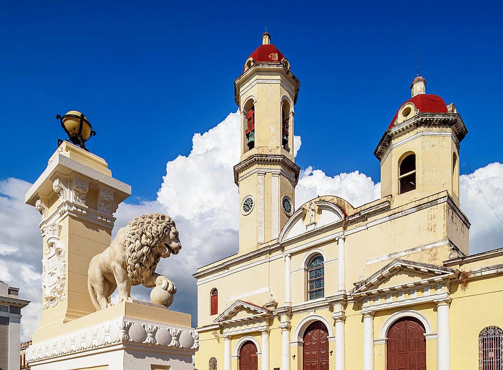Purisima Concepcion Cathedral, Main Square, Cienfuegos, UNESCO World Heritage Site, Cienfuegos Province, Cuba, West Indies, Caribbean, Central America - 1245-1848