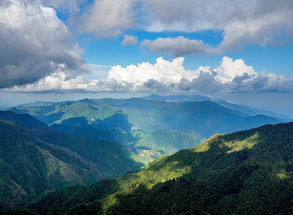 Landscape of Sierra Maestra, Granma Province, Cuba