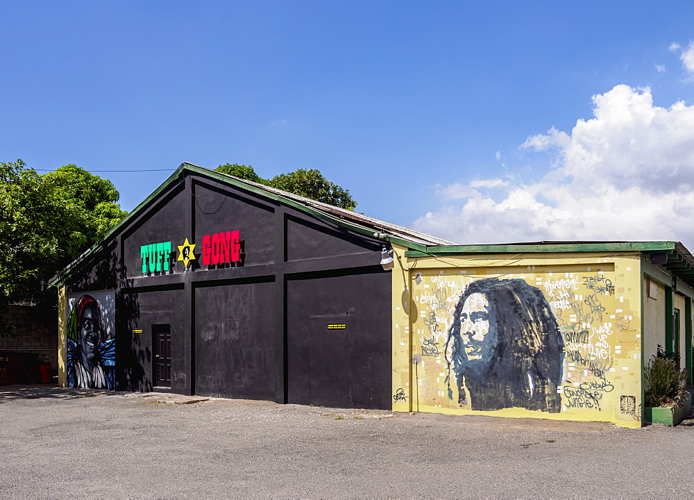 Tuff Gong Recording Studios, Kingston, Saint Andrew Parish, Jamaica, West Indies, Caribbean, Central America