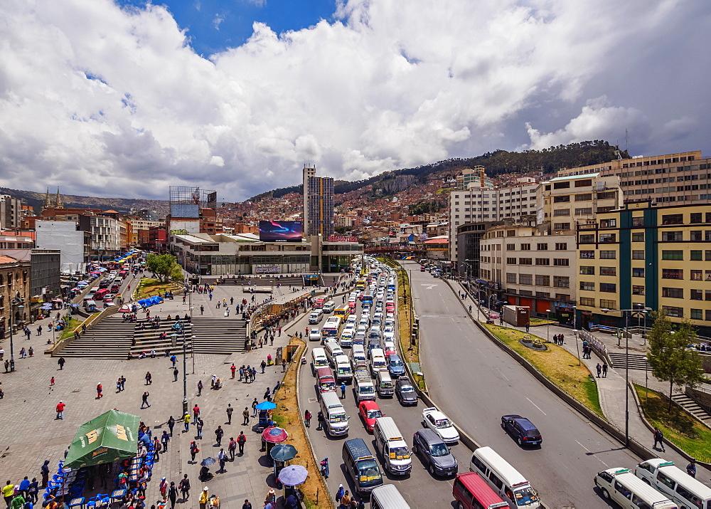 Mariscal Avenue, La Paz, Bolivia