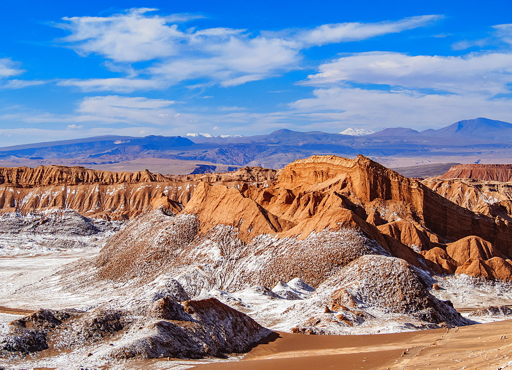 Valle de la Luna, The Moon Valley near San Pedro de Atacama, Atacama Desert, Antofagasta Region, Chile