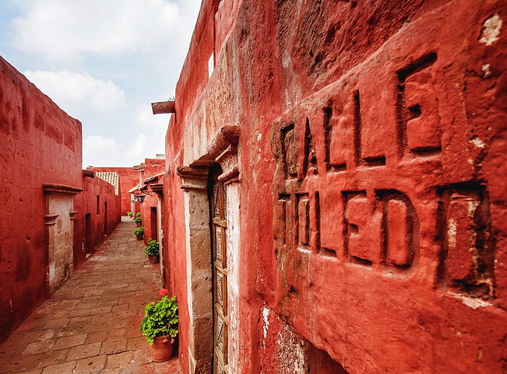 Toledo Street, Santa Catalina Monastery, Arequipa, Peru - 1245-599