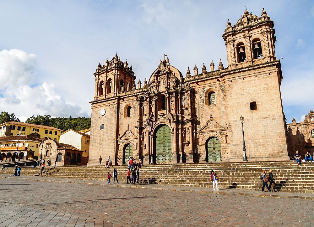 Cathedral of Cusco, UNESCO World Heritage Site, Cusco, Peru, South America
