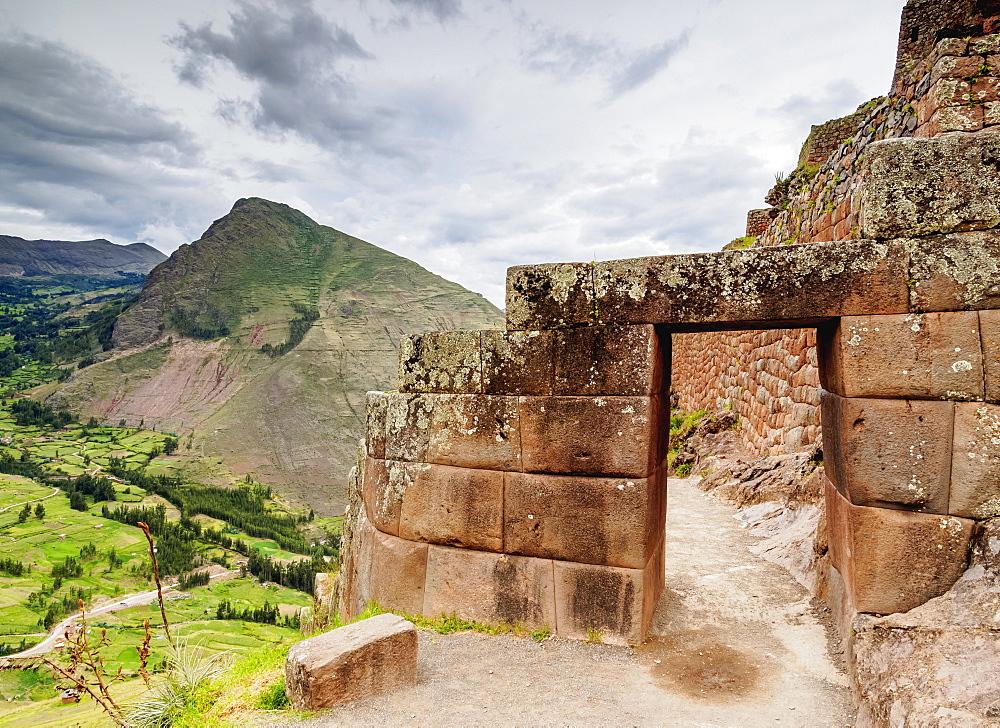 Pisac Ruins, Sacred Valley, Cusco Region, Peru, South America