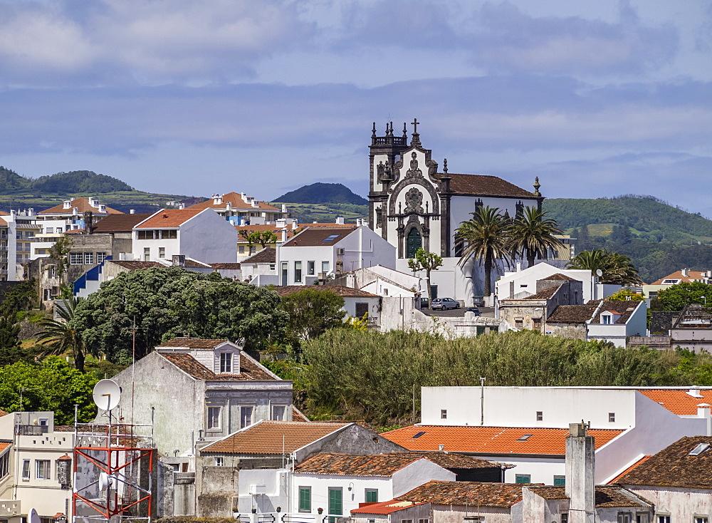 Chapel of Mae de Deus, Ponta Delgada, Sao Miguel Island, Azores, Portugal, Atlantic, Europe