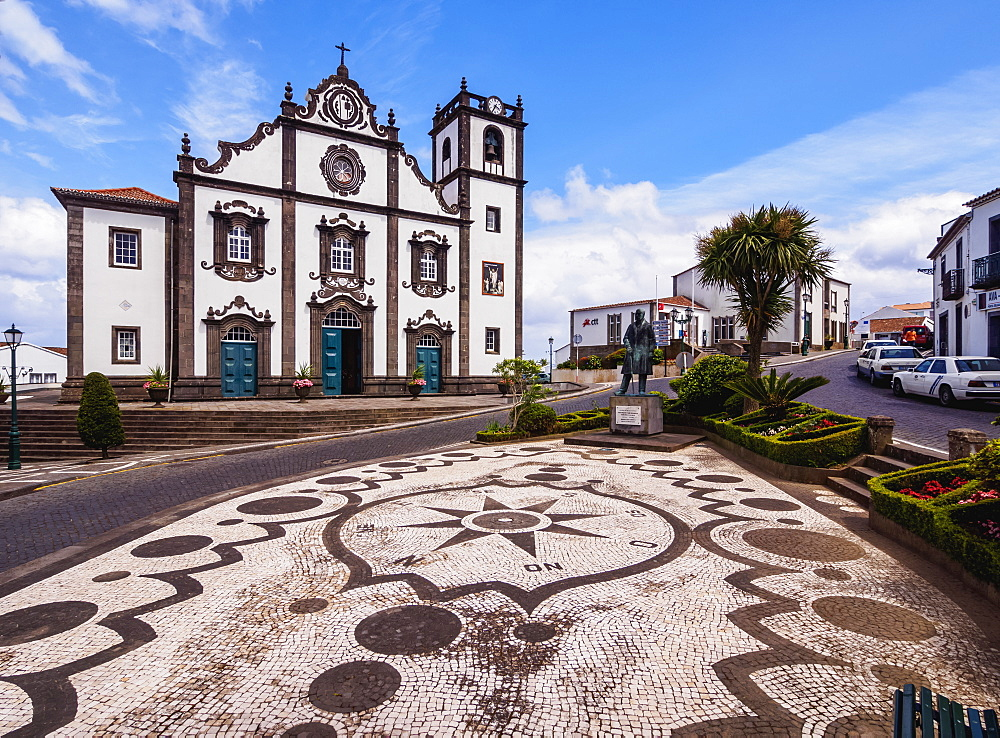 Church of Sao Jorge, Nordeste, Sao Miguel Island, Azores, Portugal, Atlantic, Europe