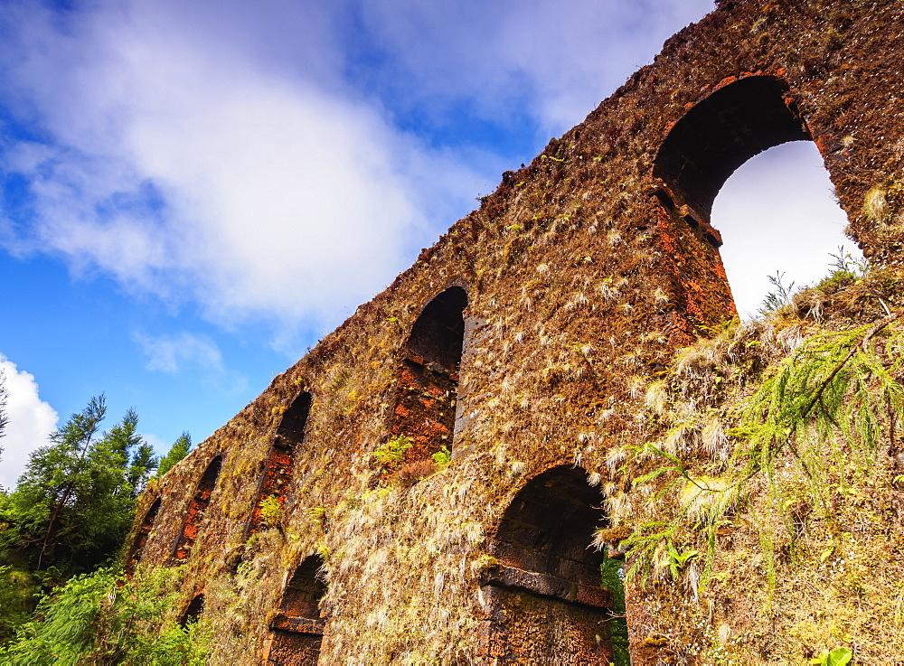 Aqueduct near Sete Cidades, Sao Miguel Island, Azores, Portugal, Atlantic, Europe