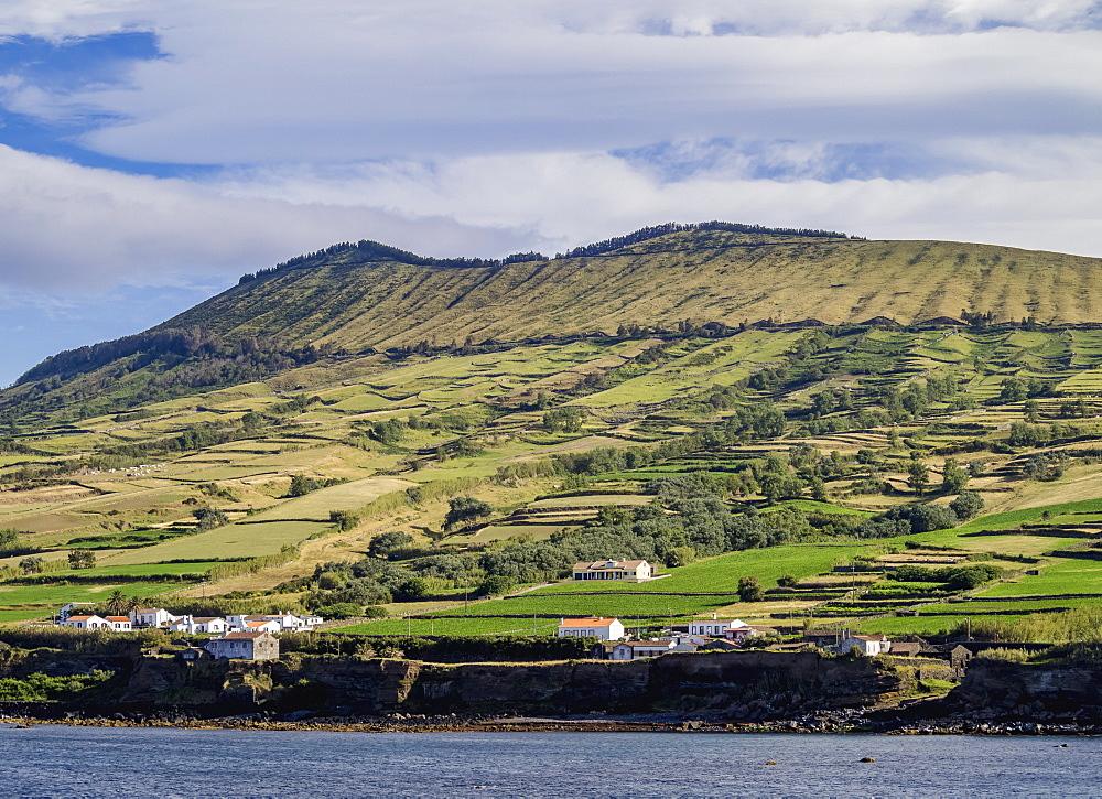 View towards the Caldeira, Graciosa Island, Azores, Portugal, Atlantic, Europe