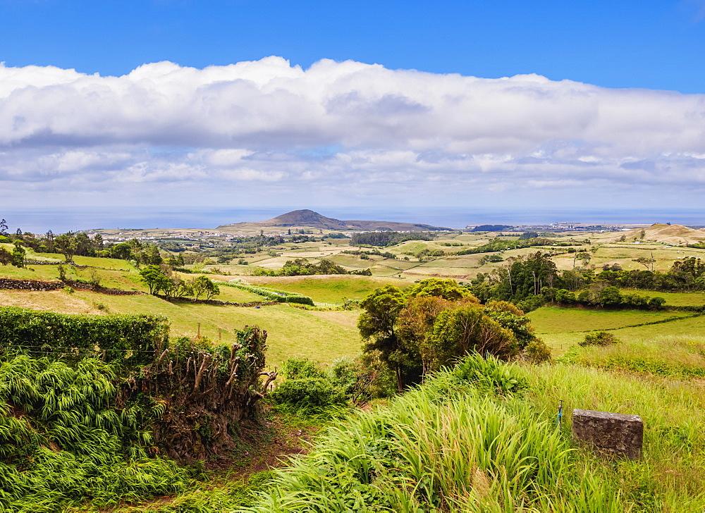 Landscape of the north, Santa Maria Island, Azores, Portugal, Atlantic, Europe