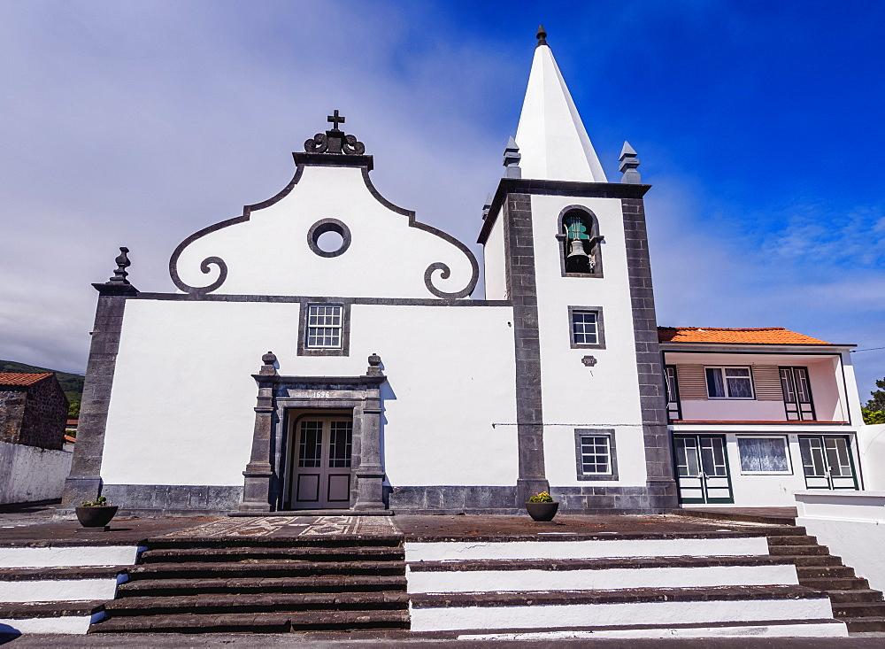 Church of Santo Antonio, Sao Roque do Pico, Pico Island, Azores, Portugal, Atlantic, Europe