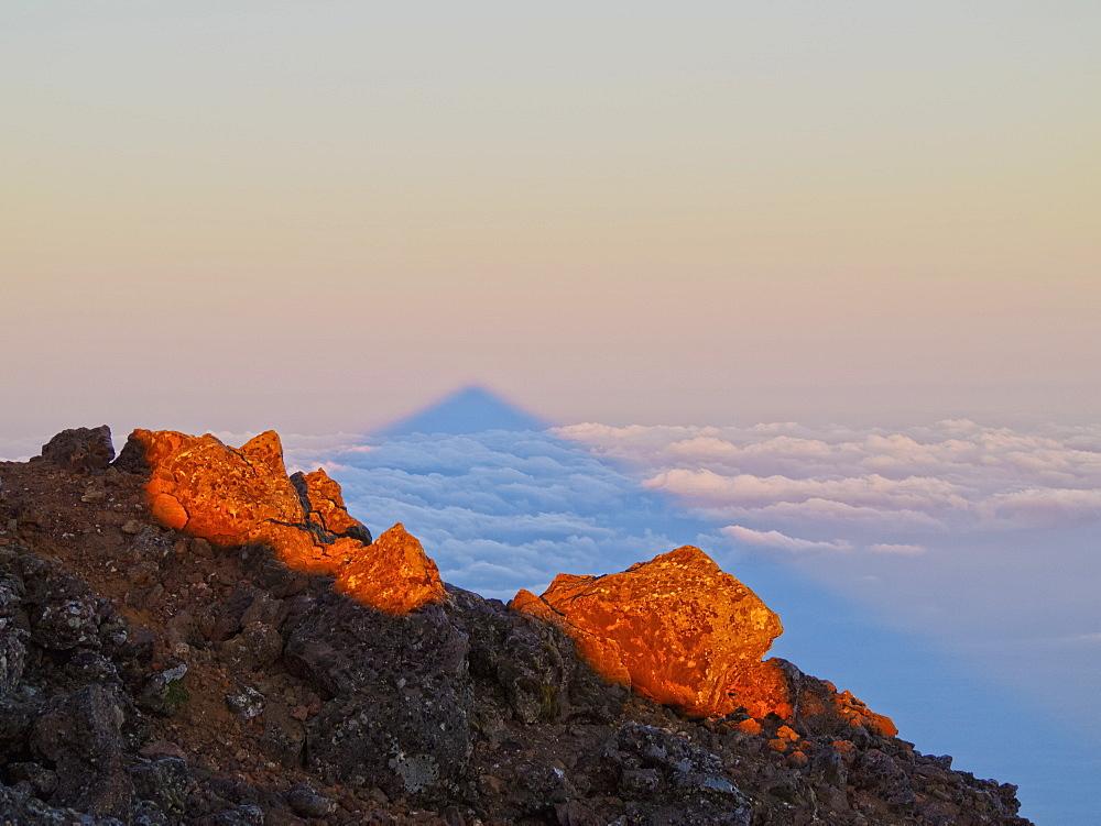 Image of Mount Pico at Sunrise