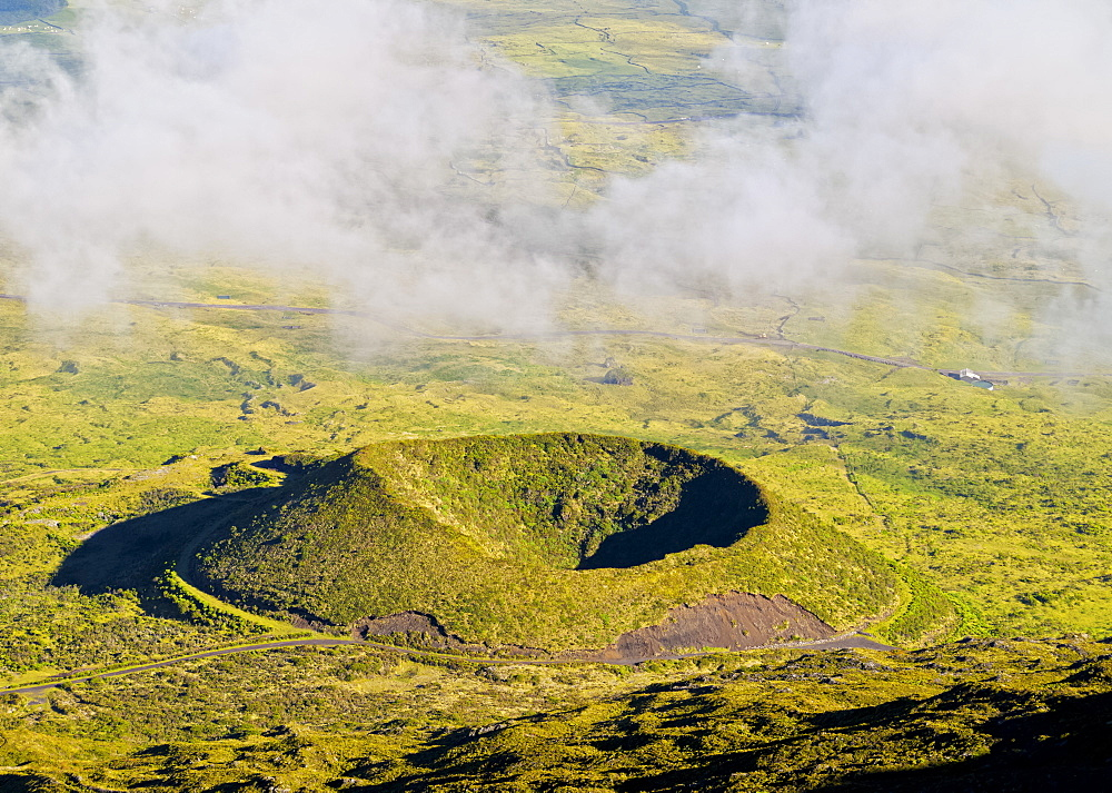 View from the Mount Pico, Pico Island, Azores, Portugal, Atlantic, Europe