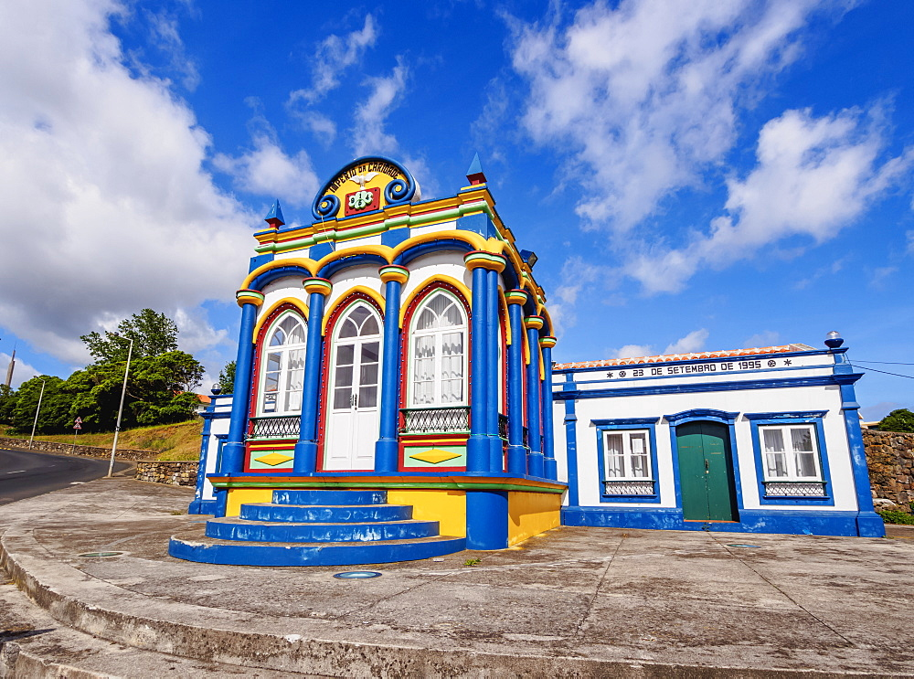 Imperio da Caridade (Empire of Holy Spirit), Praia da Vitoria, Terceira Island, Azores, Portugal, Atlantic, Europe