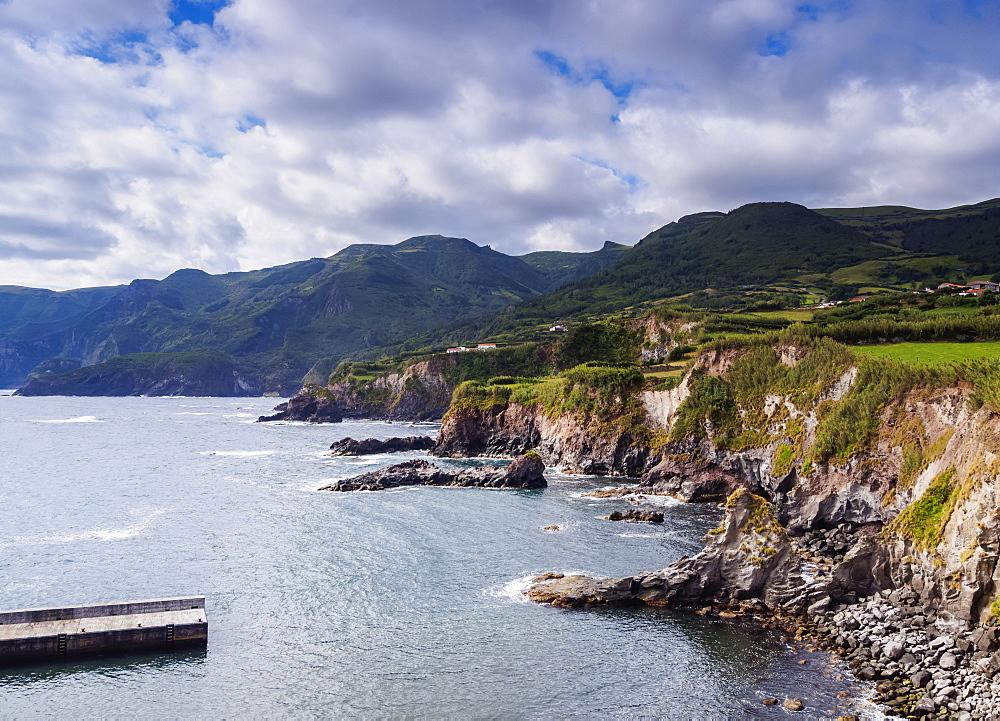 Coast of Flores Island, Azores, Portugal, Atlantic, Europe