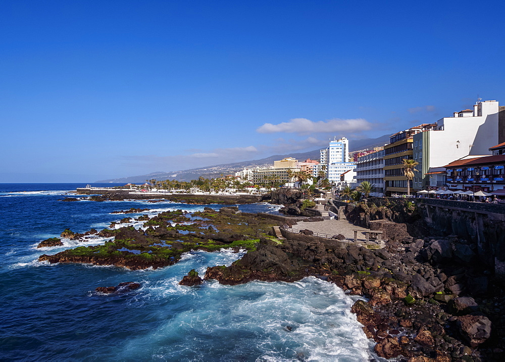 Puerto de la Cruz, Tenerife Island, Canary Islands, Spain, Atlantic, Europe