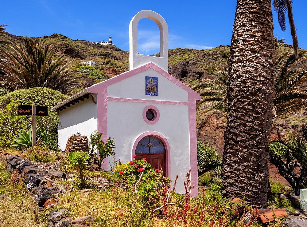 Chapel near Roque Bermejo, Anaga, Tenerife Island, Canary Islands, Spain, Europe