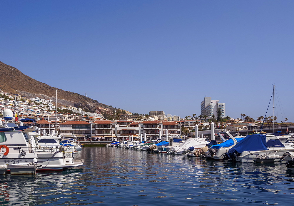 Port in Acantilados de los Gigantes, Tenerife Island, Canary Islands, Spain, Atlantic, Europe