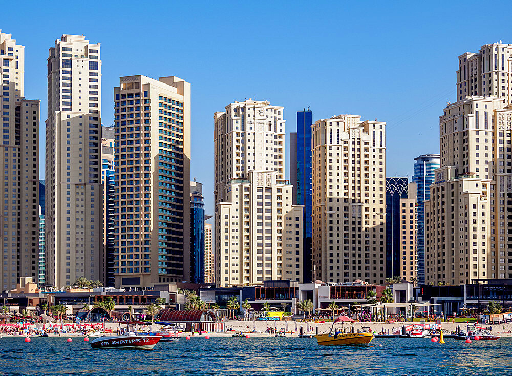 Dubai Marina JBR Beach, Dubai, United Arab Emirates