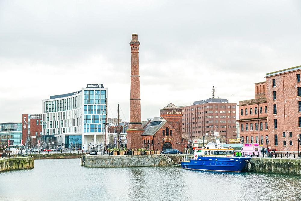 Albert Dock Views, Liverpool Merseyside December 2018 - 1247-101