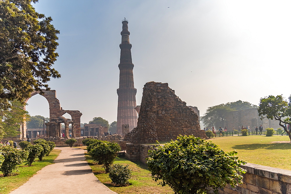 Qutub Minar, UNESCO World Heritage Site, New Delhi, India, Asia