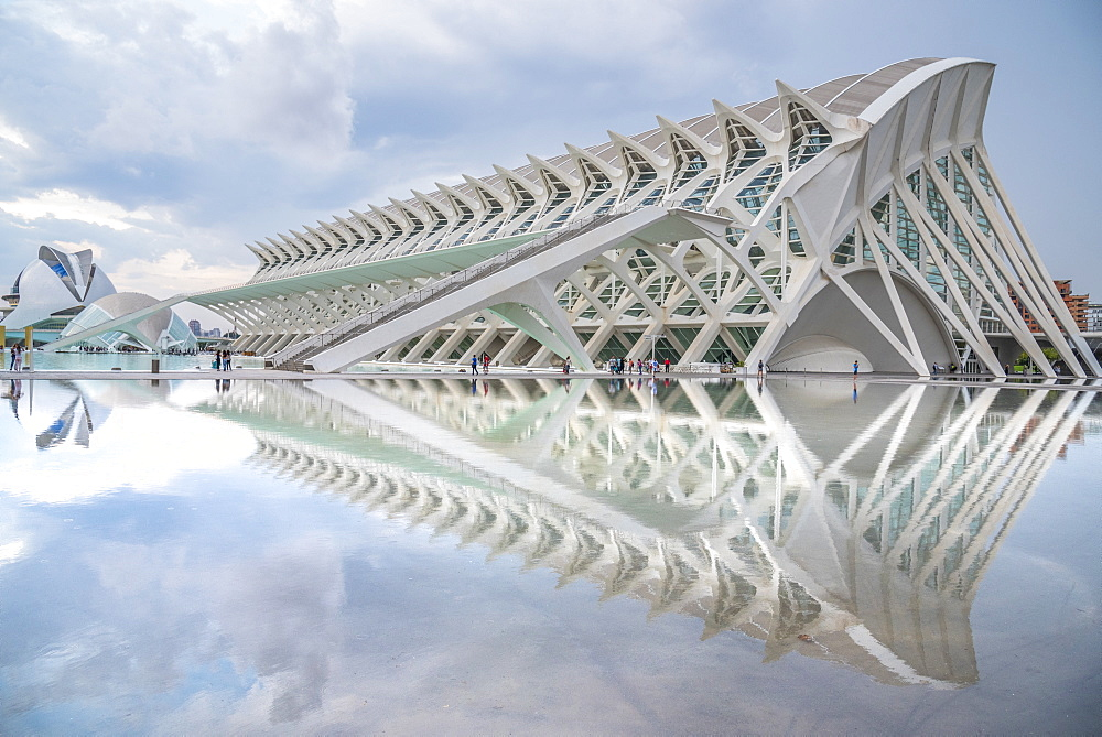 City of Arts and Sciences, Valencia, Spain, Europe - 1247-45