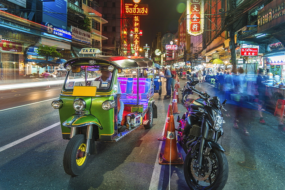 Bangkok at night, Bangkok, Thailand, Southeast Asia, Asia