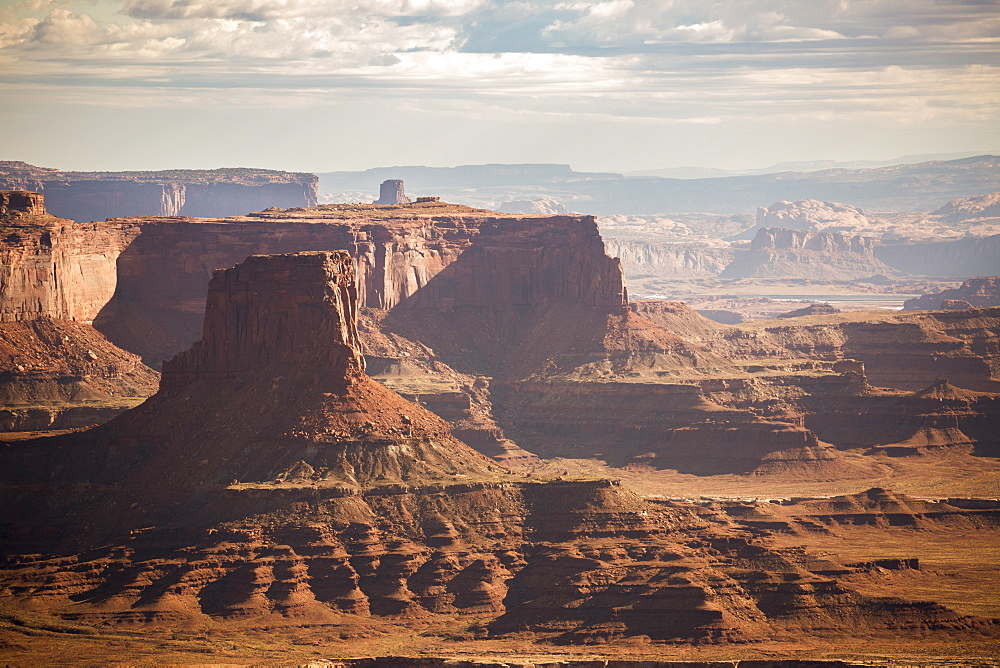 Rock formations in Canyonlands National Park, Moab, Utah, USA.