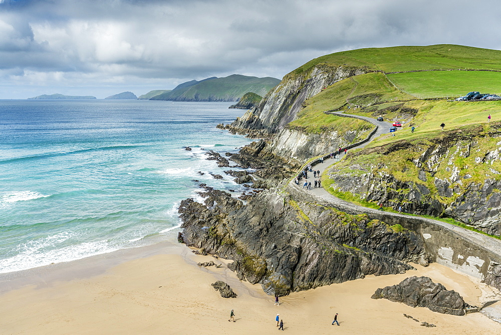 Slea Head, Dingle Peninsula, County Kerry, Munster region, Republic of Ireland, Europe