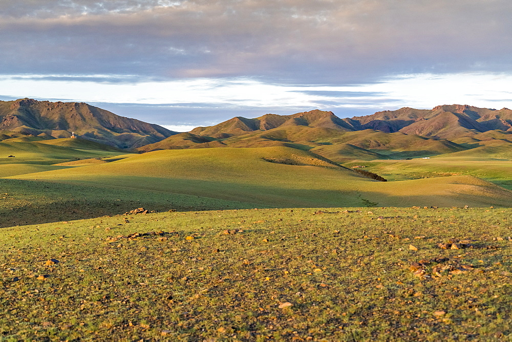 Hills and mountains. Bayandalai district, South Gobi province, Mongolia.