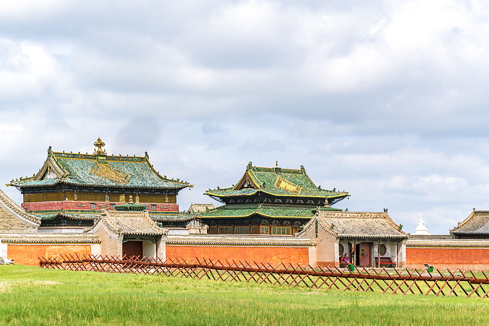 Temples in Erdene Zuu monastery. Harhorin, South Hangay province, Mongolia. - 1251-338